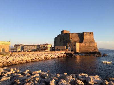 Castel dell'Ovo.Dormire a Napoli per il concerto di Bonobo in bed and breakfast a Napoli