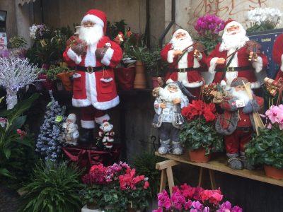 Babbo Natale a via Toledo