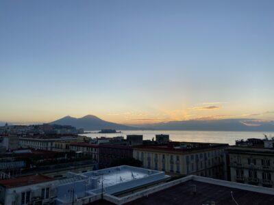 Panorama dal nostro bed & breakfast a Napoli